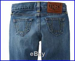 $150 NEW True Religion Jeans Big Kids Boys US 10, 12, 14 Herbie Phoenix Slim Fit