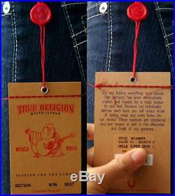 $238 Nwt True Religion Jeans Skinny Leggings Halle Buckeye Dark Sz 23-32