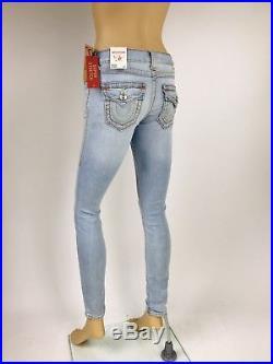 $249 Big T Super Skinny True Religion Women Jeans 25 26 27 28 29 32