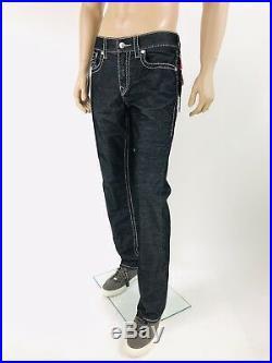 $249 Big T True Religion Men Corduroy Jeans Black 30 31 32 33 34 36 38