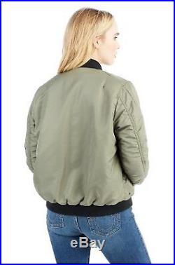 $269 Studded Bomber True Religion Women Jacket Coat Hoodie Large Medium