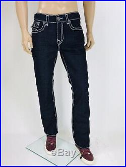$299 Ricky Super T True Religion Men Jeans 31 32 33 34 36 38 40 Super T Blue