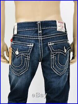$329 Super T Straight True Religion Men Jeans Super T Blue 31 32 34 36 38 Mega