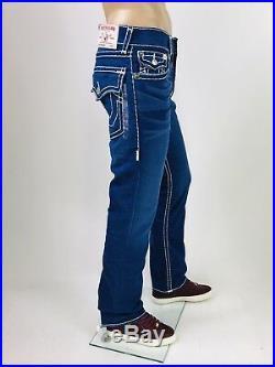 $329 Super T True Religion Men Jeans Super T Blue 30 31 32 34 36 38 40 Mega QT