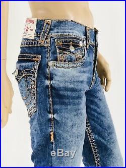 $329 Super T True Religion Men Jeans Super T Blue 31 32 34 36 38 40 Mega QT