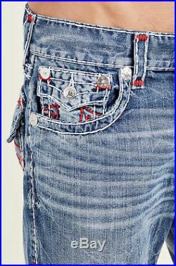 $329 True Religion Men Jeans Super T 31 32 34 36 40 MNR859ESC Desperado Mega QT