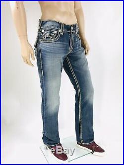 $349 Rope True Religion Men Jeans Rope Stitch 31 32 34 36 38 40 Super T Mega QT