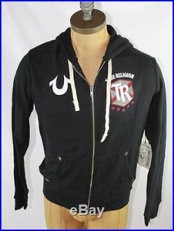 AUTH True Religion Men Fotballer Hooded Jacket M