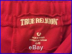 Brand New Dark Pink True Religion womens tracksuit Slim Fit