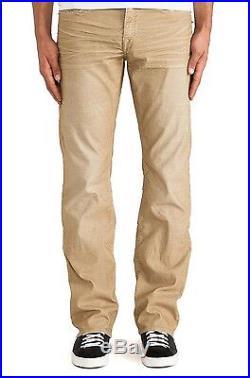 Men's True Religion Brand Ricky Cords Straw Straight Leg Jeans Pants New