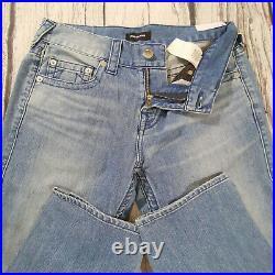 Men's True Religion Jeans 32 x 33 Geno Relaxed Slim leg in Blue RRP £139 BNWT