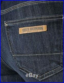 NEW $172 TRUE RELIGION Brand Jeans Workwear Stella Skinny Low Rise Dark Denims