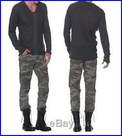 NEW Men's True Religion Brand Jeans Geno Moto Camo Vintage Slim leg Pants