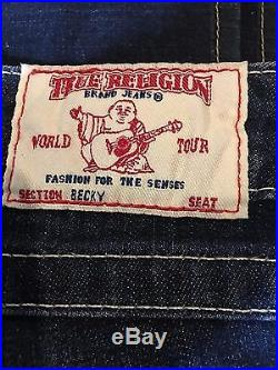 NEW True Religion Becky Traditional Bootcut Women's Jeans Size 32