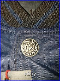 NEW True Religion Contrast Bomber Jacket XL