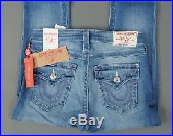 NEW True Religion Jeans High Rise Super Skinny STRETCH size 28 Nat Plum BT Flaps