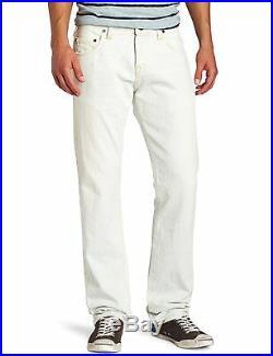 NEW True Religion Jeans Men Geno Phoenix Straight Tinted Blue White Denims 30-33