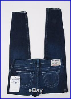 NEW True Religion Jeans Swarovski Legging size 31 Skinny Stretch Womens Crystals