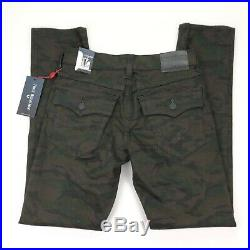 NEW True Religion Men's Geno Flap Slim Jeans Cosmic Camo 30 x 34