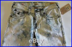 NWT True Religion Men's Jeans Ricky Mineral Reef Super T Relaxed Straight 28, 29