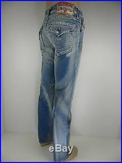 NWT True Religion Ricky Super T Men Jean, Hasting Pass, Size 30, Retail $359