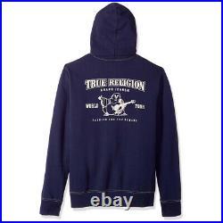 New Mens True Religion Navy Hooded Tracksuit MA0B129MF3 RRP £235