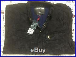 New True Religion Brand Jean Men's Camo Field Jacket MSQBH2CC3 $249 Size M XL