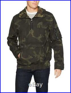 New True Religion Brand Jeans Men's Camo Hoodie Jacket MSQAE4BN3 $249 Sz M L XL