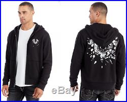 New True Religion Brand Men's Shattered Horseshoe Zip Hoodie $149 Size L XL XXL