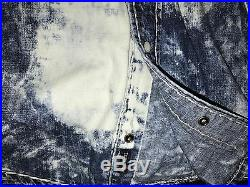 New True Religion Denim Jeans Super T Shirt L Large Slim Fit
