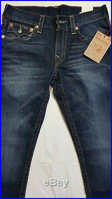 New True Religion Geno Slim Flap Sn Men's Jean Size W 31