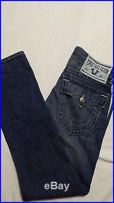 New True Religion Jeans Men Slim Phil Nat wprint, $ 310, Size 31/L34