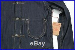New True Religion Kyle Pony Express Denim Jacket Men's Size XXL