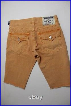 New True Religion Men Cut Off Shorts 34