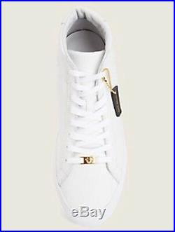 New True Religion Men Hex V1 Hightop Leather Sneaker White 13