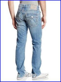 New True Religion Men's Jeans Ricky Super Hot Big Qt Multi Stitch Sierra Vista