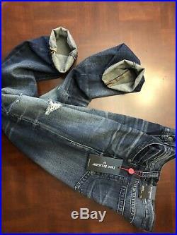 New True Religion Ricky Skinny Fit Jean No Flap Size W32 $299