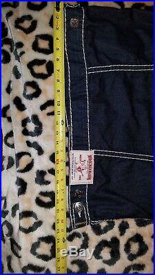New True Religion Trucker Jacket Jean- Natural Super T 3XL/3GT