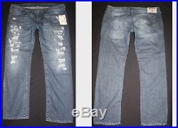 Size 44, TRUE RELIGION, Skinny true indigo new mans jeans style MNRJ60ZYD4