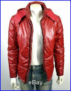 TRUE RELIGION Brand Jeans Men's Quilted Hooded Puffer Jacket 103122