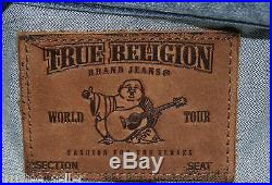 TRUE RELIGION Brand Men's Jimmy Nou Combo Super T Vintage Piston Denim Jacket