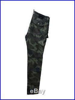 TRUE RELIGION Brand Slim Cargo Flap Pocket Camo Mens Jeans Casual Pants