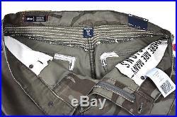 True Religion $249 Men's Geno Camo Moto Slim Jeans MC408ZJ8