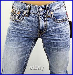 True Religion $249 Men's Hand Picked Big T Slim Fit Jeans 100685