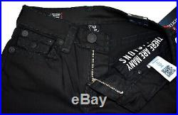 True Religion $299 Men's Ricky Nightfall Relaxed Straight Super T Jeans 102239