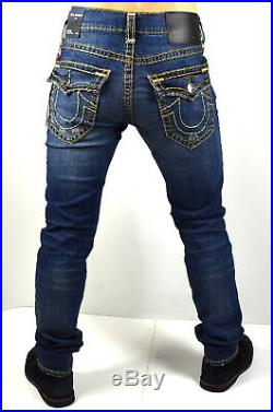 True Religion $299 Men's Rocco Relaxed Skinny Super T Brand Jeans 101773