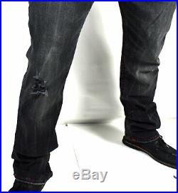 True Religion $299 Mens Ricky Dark Range Relaxed Straight Super T Jeans 102057