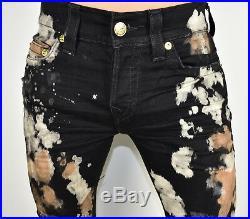 True Religion $309 Men's Rocco Skinny Worn Moon Brand Jeans MDABJ422X