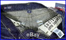 True Religion $329 Men's Ricky Relaxed Straight Super T Jeans -100945 Size 29x34