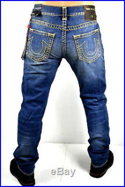 True Religion $329 Rocco Relaxed Skinny Super T Brand Jeans 100426